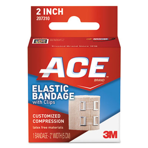 ACE Elastic Bandage with E-Z Clips  2  x 50  (MMM207310)