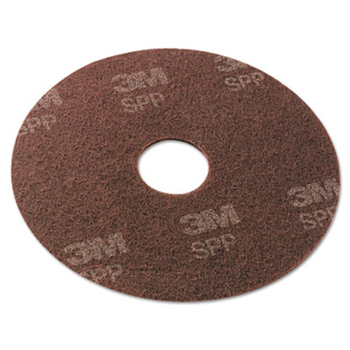 Scotch-Brite Surface Preparation Pad  13  Diameter  Maroon  10 Carton (MMMSPP13)