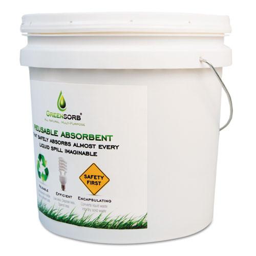 GreenSorb Eco-Friendly Sorbent  10 lb Bucket (BCGGS10)