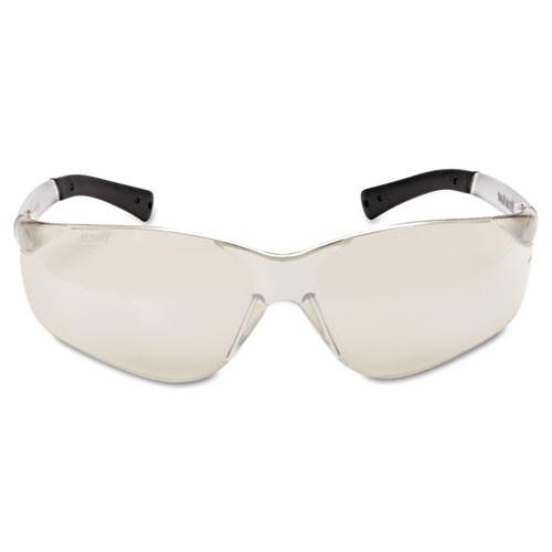 MCR Safety BearKat Safety Glasses  Frost Frame  Clear Mirror Lens (CRWBK119)