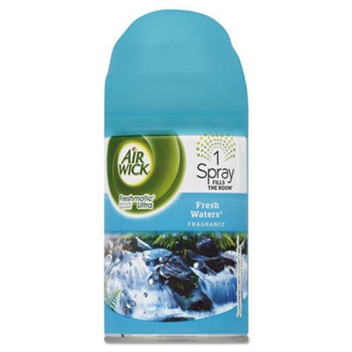 Air Wick Freshmatic Ultra Automatic Spray Refill, Fresh Waters, Aerosol 6.17 oz, 6/Carton (RAC79553)