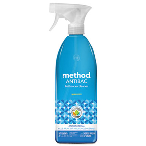 Method Antibacterial Spray  Bathroom  Spearmint  28oz Bottle (MTH01152)