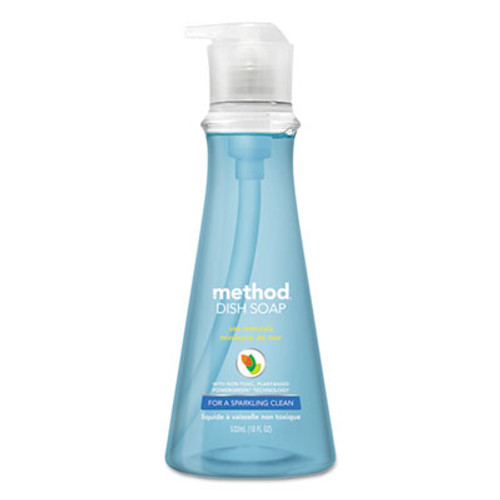 Method Dish Soap  Sea Minerals  18 oz Pump Bottle (MTH00734)
