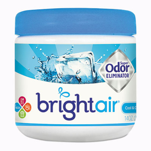 BRIGHT AirA Super Odor Eliminator, Cool and Clean, Blue, 14 oz (BRI900090EA)