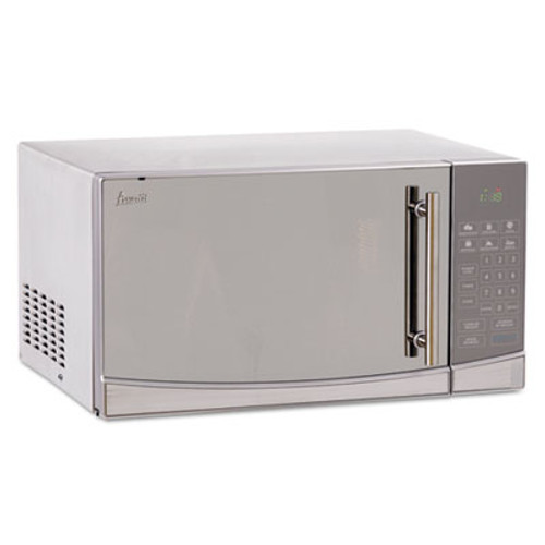 Avanti 1 1 Cubic Foot Capacity Stainless Steel Touch Microwave Oven  1000 Watts (AVAMO1108SST)