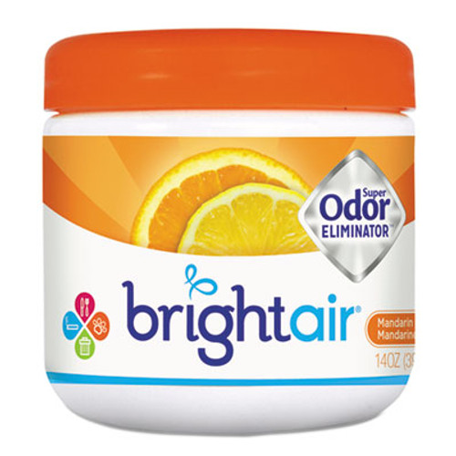 BRIGHT AirA Super Odor Eliminator, Mandarin Orange and Fresh Lemon, 14 oz (BRI900013EA)