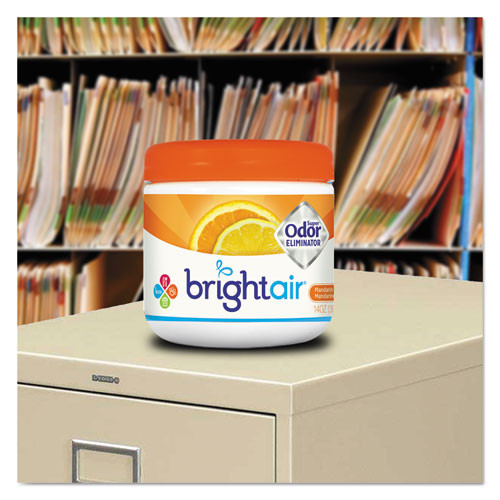 BRIGHT Air Super Odor Eliminator  Mandarin Orange and Fresh Lemon  14 oz (BRI900013EA)