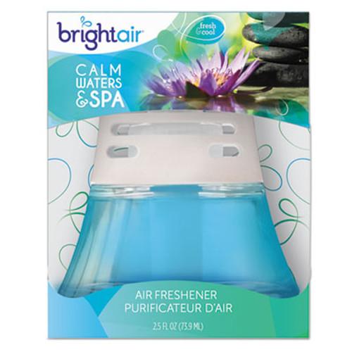 BRIGHT Air Scented Oil Air Freshener  Calm Waters and Spa  Blue  2 5 oz (BRI900115EA)