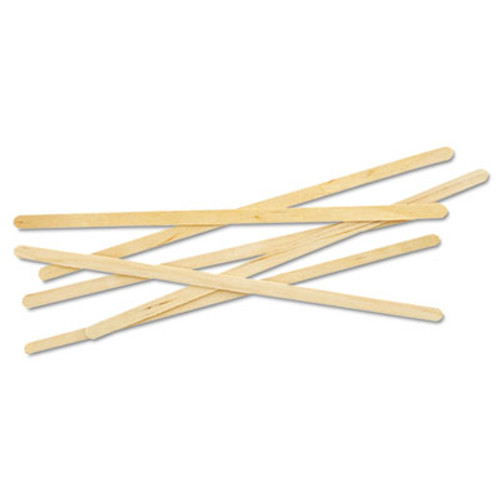 Eco-Products Renewable Wooden Stir Sticks - 7   1000 PK (ECONTSTC10C)