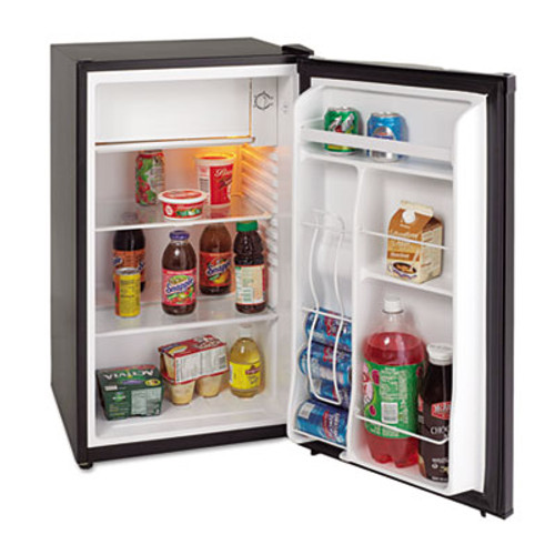 Avanti 3 3 Cu Ft Refrigerator with Chiller Compartment  Black (AVARM3316B)