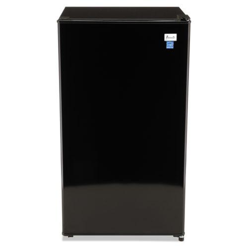 Avanti 3 3 Cu Ft Refrigerator with Chiller Compartment  Black (AVARM3316B)