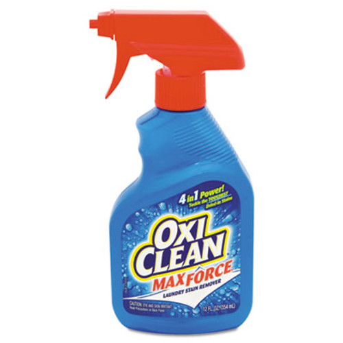 OxiClean Max Force Laundry Stain Remover  12oz Spray Bottle (CDC5703700070EA)