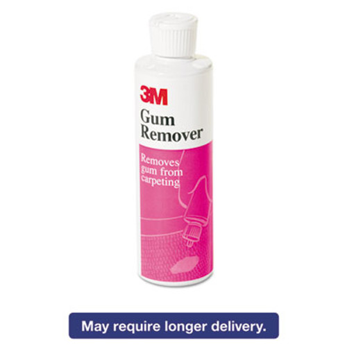 3M Gum Remover, Liquid, 8oz Bottle (MMM34854EA)