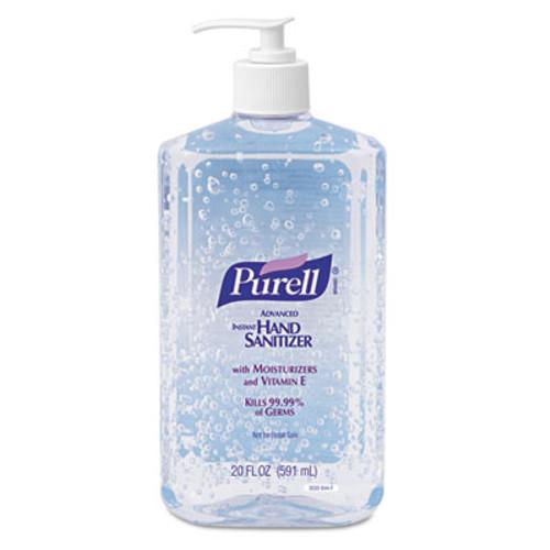 PURELL Advanced Hand Sanitizer Refreshing Gel  Clean Scent  20 oz Pump Bottle (GOJ302312EA)