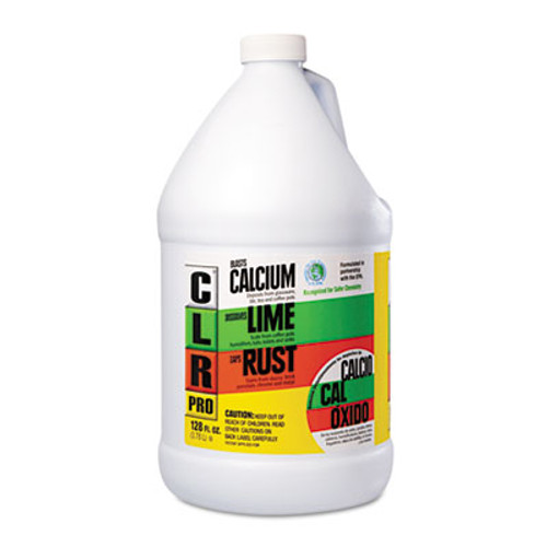 CLR PRO Calcium  Lime and Rust Remover  1 gal Bottle  4 Carton (JELCL4PRO)