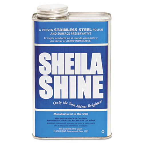 Sheila Shine Stainless Steel Cleaner   Polish  1gal Can  4 Carton (SSI4CT)