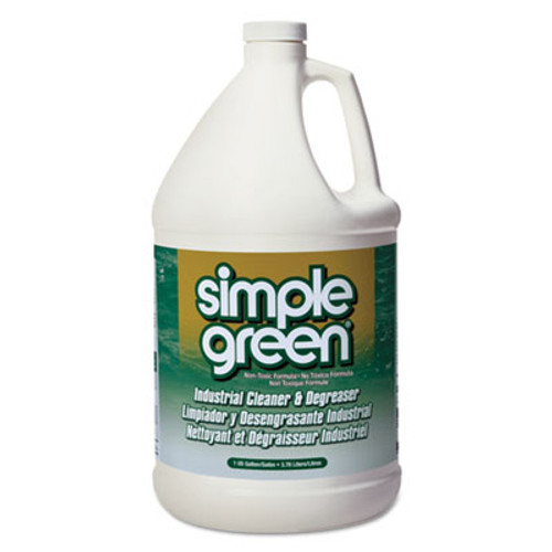 Simple Green Industrial Cleaner and Degreaser  Concentrated  1 gal Bottle (SMP13005EA)