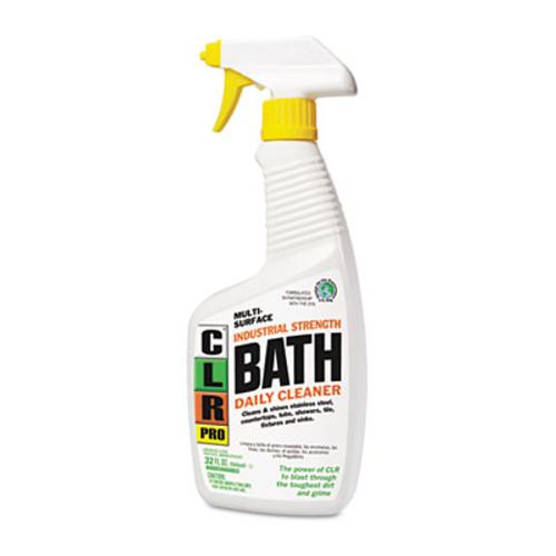 CLR PRO Bath Daily Cleaner  Light Lavender Scent  32 oz Pump Spray  6 Carton (JELBATH32PRO)