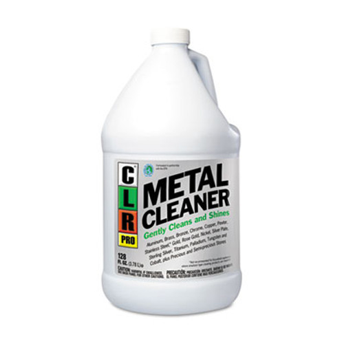 CLR PRO Metal Cleaner  128 oz Bottle  4 Carton (JELCLRMC4PRO)