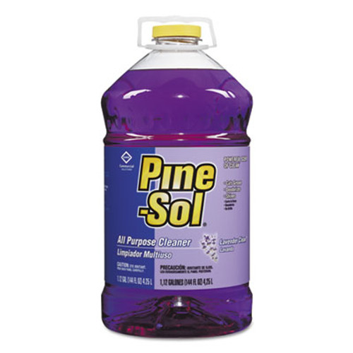 Pine-Sol All Purpose Cleaner  Lavender Clean  144 oz Bottle (CLO97301EA)