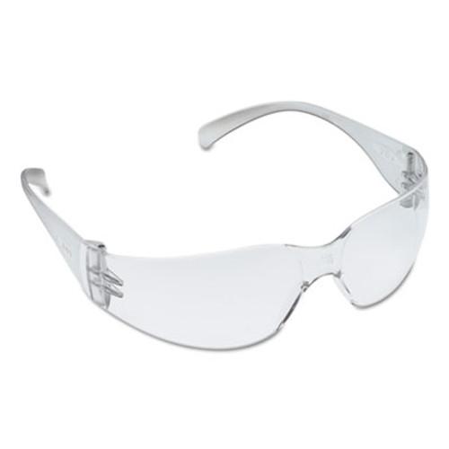 3M Virtua Protective Eyewear, Clear Frame, Clear Hard-Coat Lens, 20/Carton (MMM113260000020)