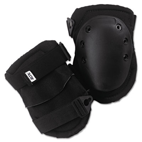 ALTA AltaLok Knee Pads, Fastener Closure, Neoprene/Nylon, Rubber, Black (ATA50413)