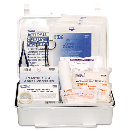 Pac-Kit Industrial  25 Weatherproof First Aid Kit  159-Pieces  Plastic Case (PKT6084)