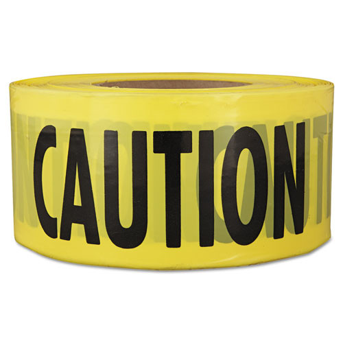 Empire  Caution  Barricade Tape  3  x 1 000 ft   Yellow Black (EML711001)