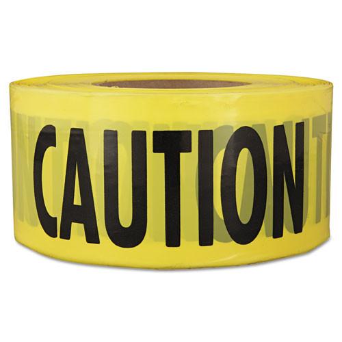 Empire  Caution  Barricade Tape  3  x 1 000 ft   Yellow Black (EML711001)