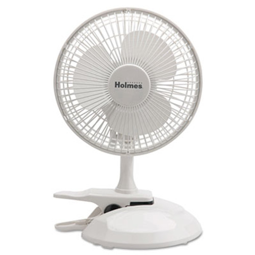 Holmes 6  Convertible Clip Desk Fan  2 Speed  White (HLSHCF0611AWM)