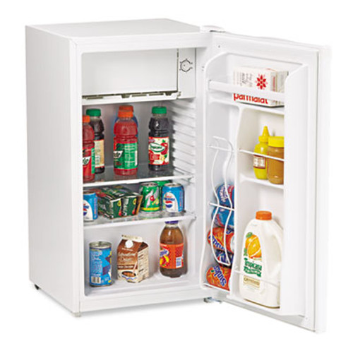Avanti 3 3 Cu Ft Refrigerator with Chiller Compartment  White (AVARM3306W)