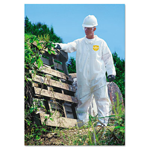 DuPont ProShield NexGen Coveralls, Zip Closure, Large (DUPNG120SL)