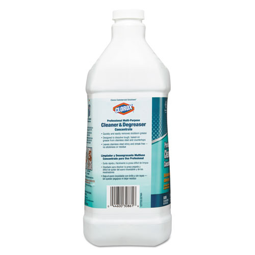 Clorox Professional Multi-Purpose Cleaner and Degreaser Concentrate  1 gal (CLO30861)