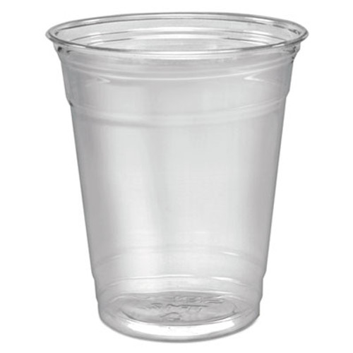 SOLO Cup Company Ultra Clear Cups, Squat, 12-14 oz, PET, 50/Pack (DCCTP12PK)