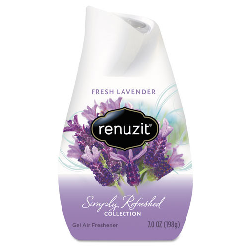 Renuzit Adjustables Air Freshener  Lovely Lavender  7 oz Solid (DIA35001)