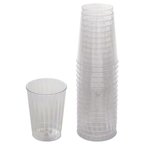 WNA Classicware Tumblers  10 oz  Plastic  Clear  16 Bag (WNARSCC101516PK)