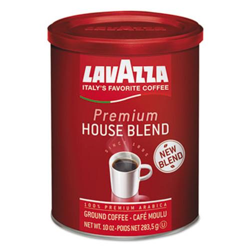 Lavazza Premium House Blend Ground Coffee  Medium Roast  10 oz Can (LAV2709)