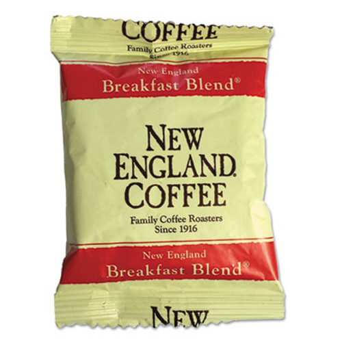 New England Coffee Coffee Portion Packs  Breakfast Blend  2 5 oz Pack  24 Box (NCF026260)