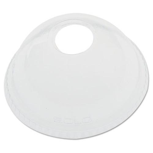 Dart Ultra Clear Dome Cold Cup Lids f 16-24 oz Cups  PET  1000 Carton (DCCDLR626CT)