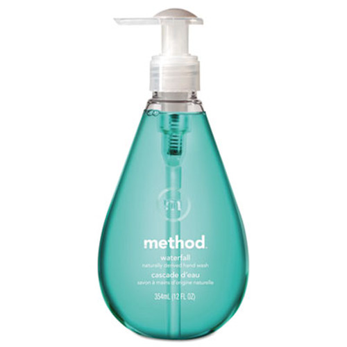 Method Gel Hand Wash, Waterfall, 12 oz Pump Bottle (MTH00379)