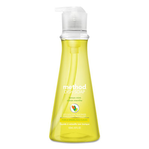 Method Dish Soap  Lemon Mint  18 oz Pump Bottle (MTH01179)