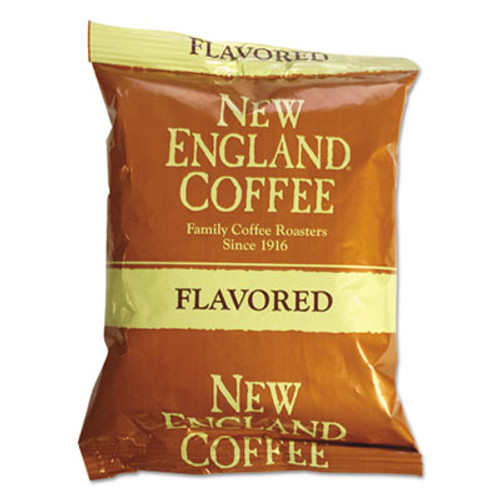 New England Coffee Coffee Portion Packs  Hazelnut Creme  2 5 oz Pack  24 Box (NCF026530)