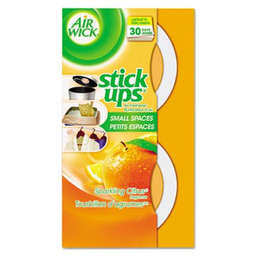 Air Wick Stick Ups Air Freshener  2 1 oz  Sparkling Citrus  12 Carton (RAC85826CT)