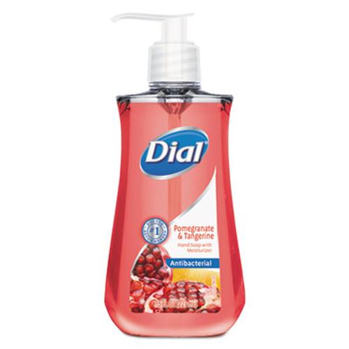 Dial Antimicrobial Liquid Soap, 7 1/2 oz Pump Bottle, Pomegranate & Tangerine (DIA02795)