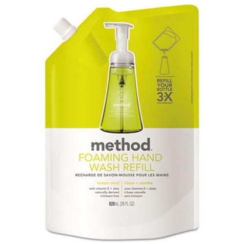 Method Foaming Hand Wash Refill  Lemon Mint  28 oz Pouch (MTH01365)