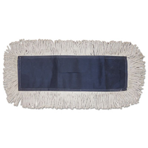 Boardwalk Disposable Dust Mop Head, Cotton, Cut-End, 60w x 5d (BWK1660CT)