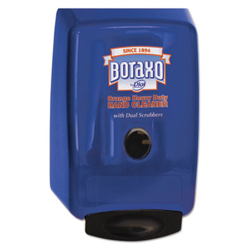 Boraxo 2L Dispenser for Heavy Duty Hand Cleaner  10 49  x 4 98  x 6 75   Blue (DIA10989)
