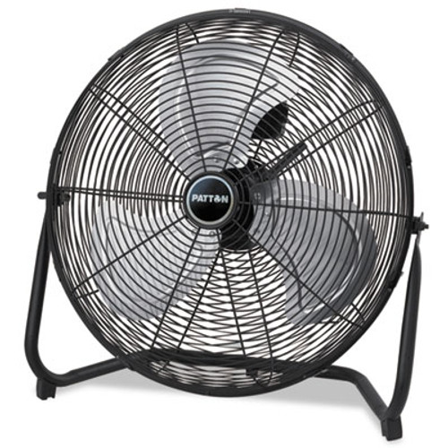 Patton High Velocity Fan  Three-Speed  Black  24 1 2 W x 8 5 8 H (PATPUF2010CBM)