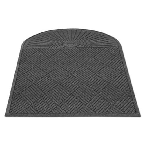 Guardian EcoGuard Diamond Floor Mat  Single Fan  36 x 72  Charcoal (MLLEGDSF030604)