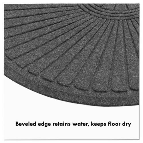 Guardian EcoGuard Diamond Floor Mat  Double Fan  48 x 96  Charcoal (MLLEGDDF040804)